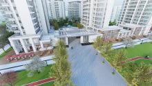 城发新时代景观效果图