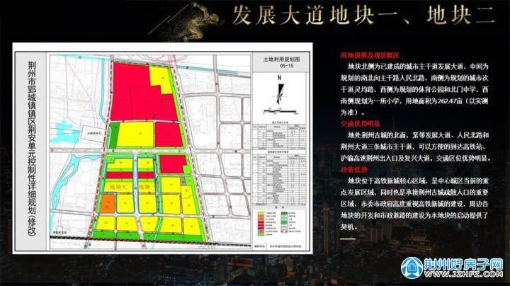 荆州市规划局地块资料