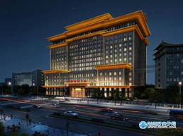 荆州中医医院中医特色大楼即将开始地上主体施工