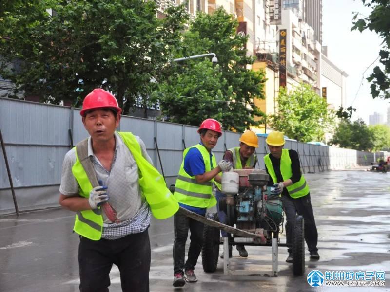 荆州江汉南路雨污分流改造工程