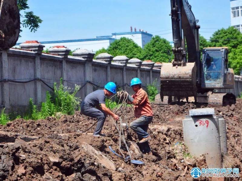 荆州城南污水处理厂工程