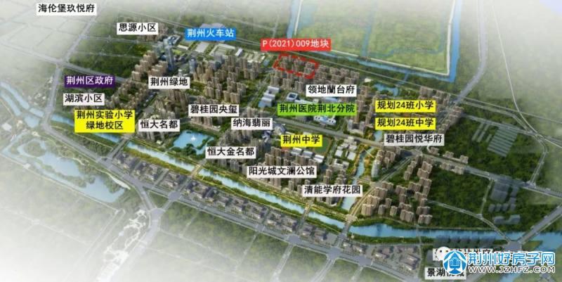 荆北新区规划图