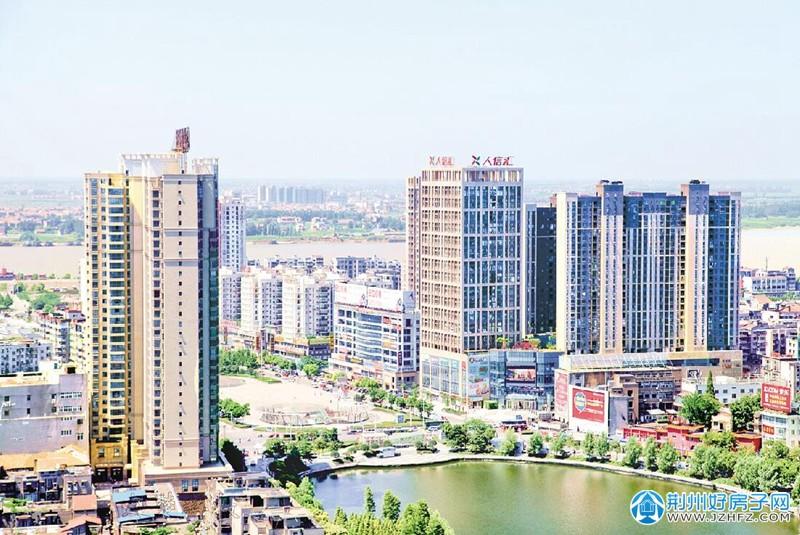 荆州便河广场