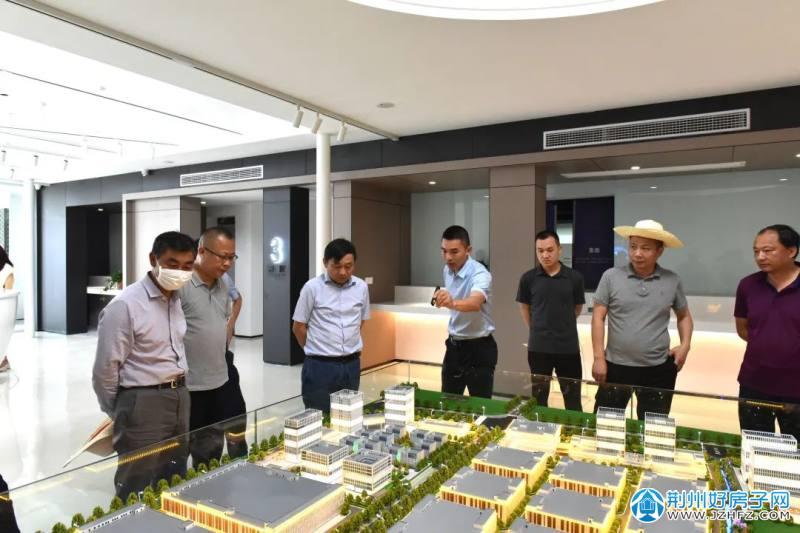荆州区委书记周昌俊带队调研荆州区各项目建设情况