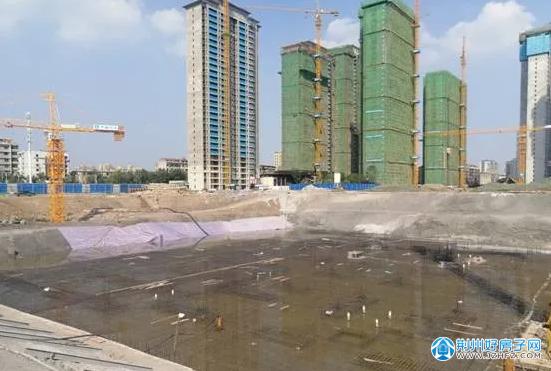 杨冰同志督办中建荆州之星二期、鹏程新风民心家园项目防洪安全隐患