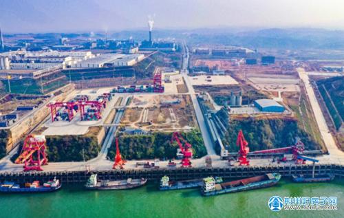 荆州港松滋港区车阳河综合码头工程