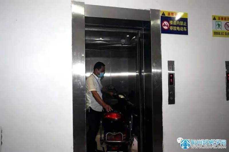 图片荆州某小区电梯自动管理系统会自动报警