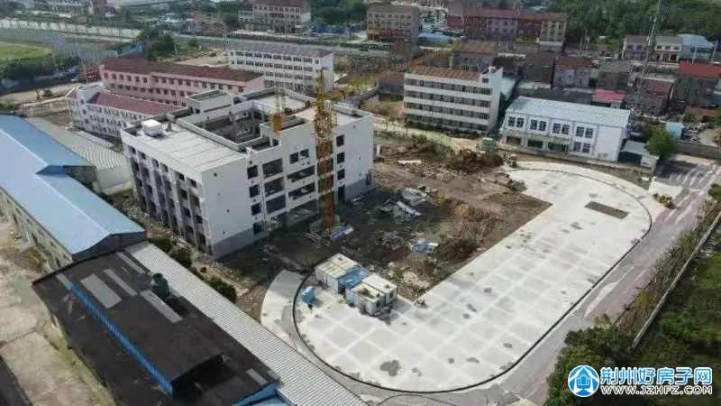 在建的关沮新城实验学校