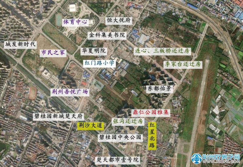 鼎仁公园雅集区位图