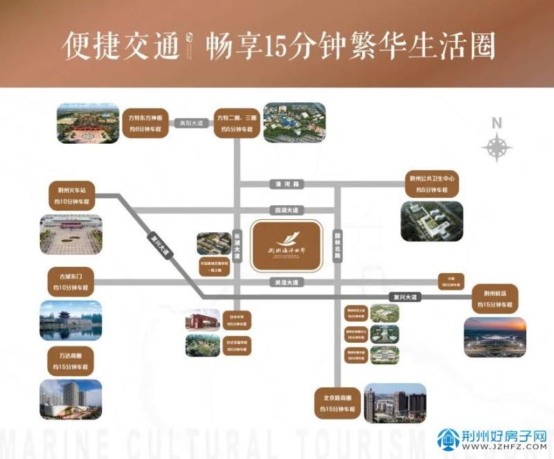 荆州海洋世界·海墅湾稀缺院墅