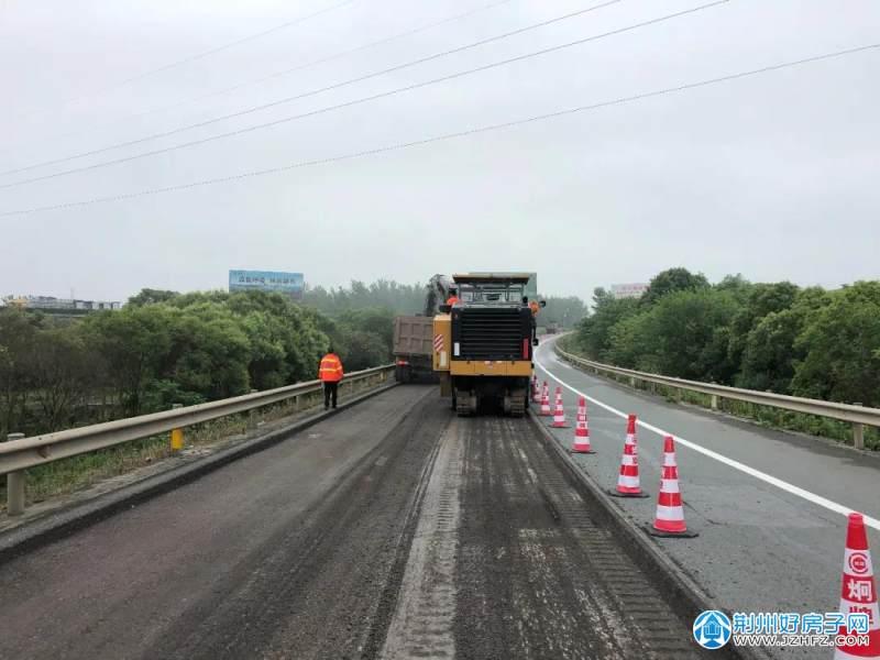 襄荆高速岳桥即将开始封闭施工