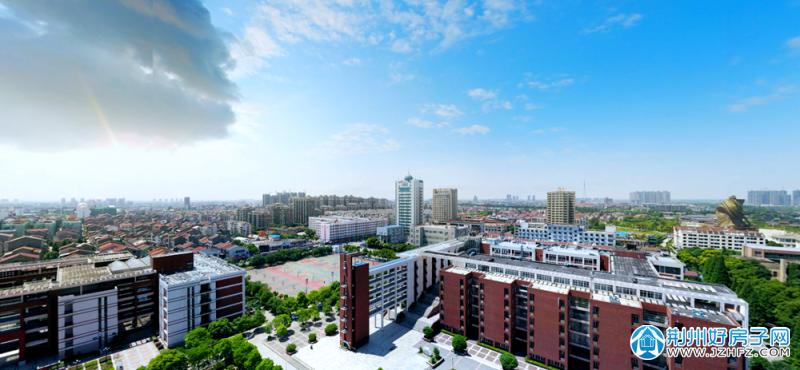 长江大学、关公像与城南