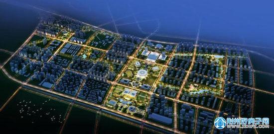 """沙北新区""""水丝带""""项目效果图"""