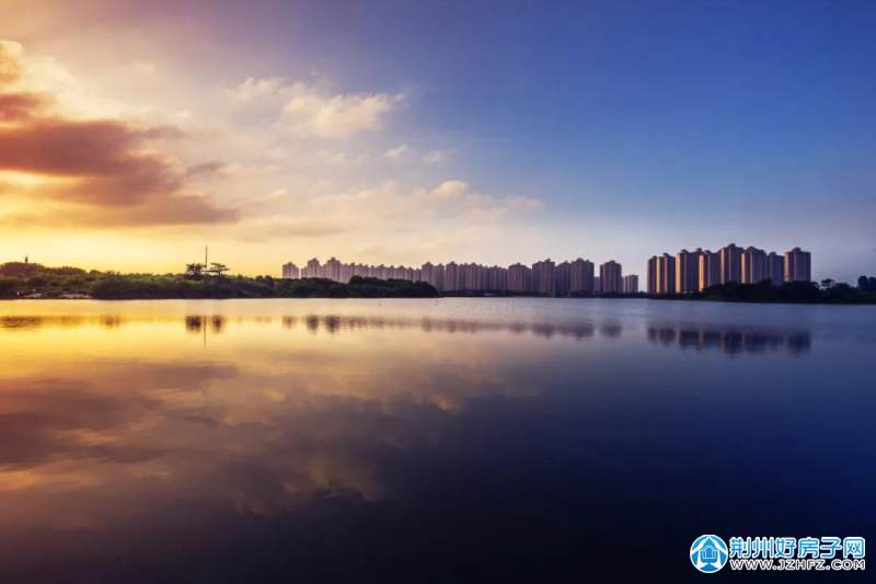 ▲范家渊生态公园湖景实景