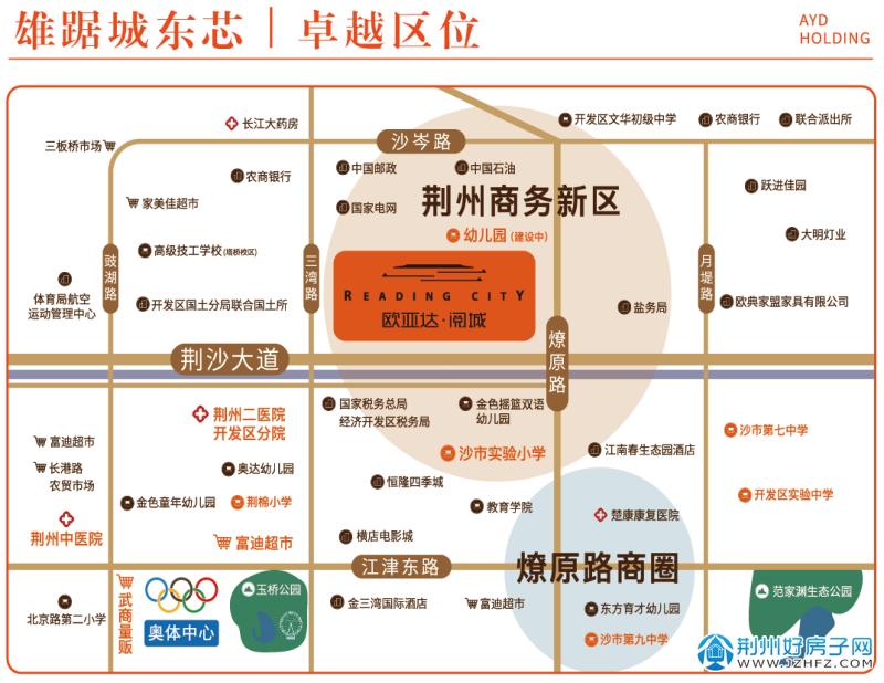 欧亚达阅城项目区位图
