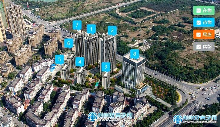 城发新时代楼栋图