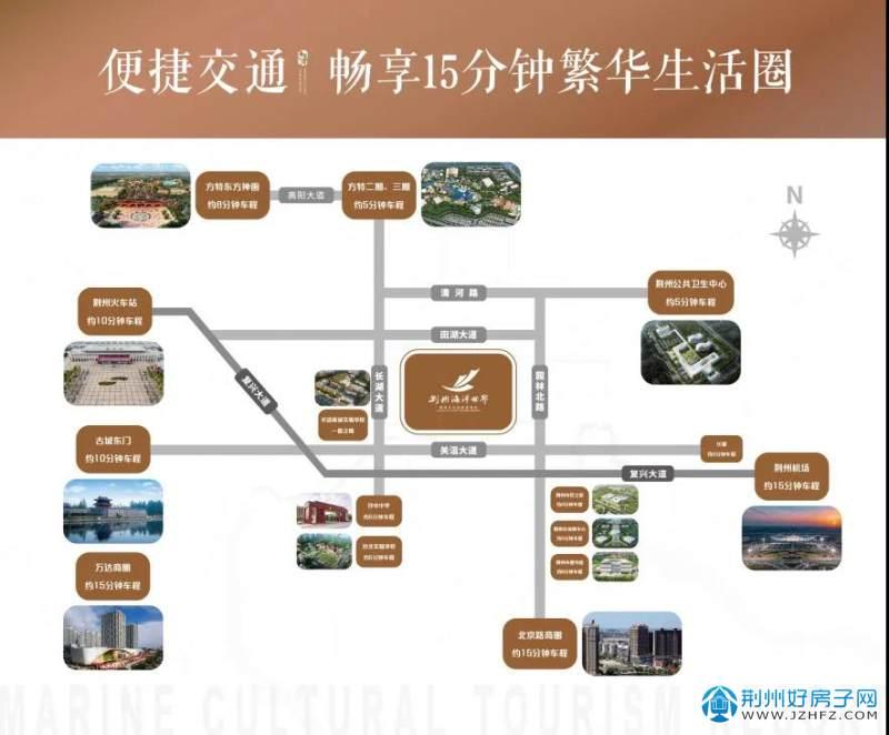 荆州海洋世界区位图