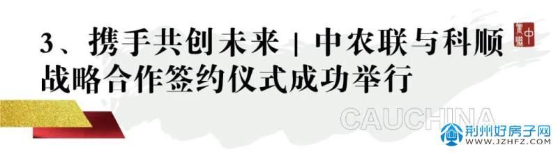 中农联与科顺战略合作