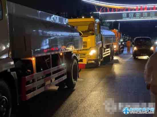 荆州开发区启动疫情防控集中消杀工作