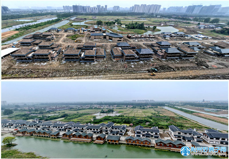 火车站旁的郢城文化园