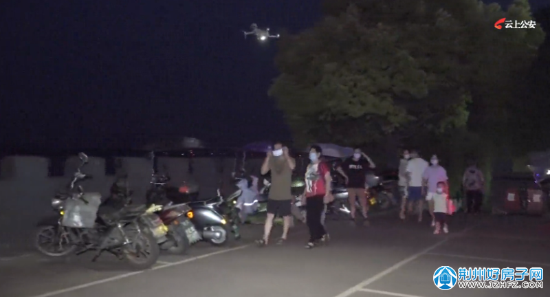 公安县城管局:创新疫情防控方式 无人机投入战场
