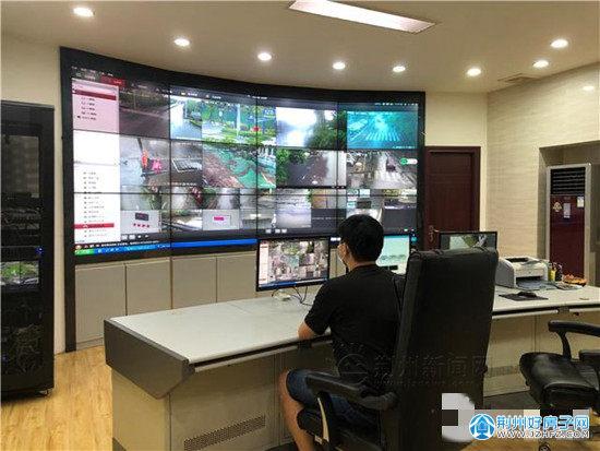 荆州中心城区降水情况