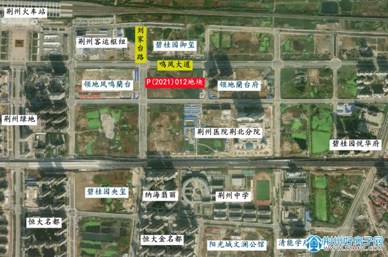 荆北新区项目分布