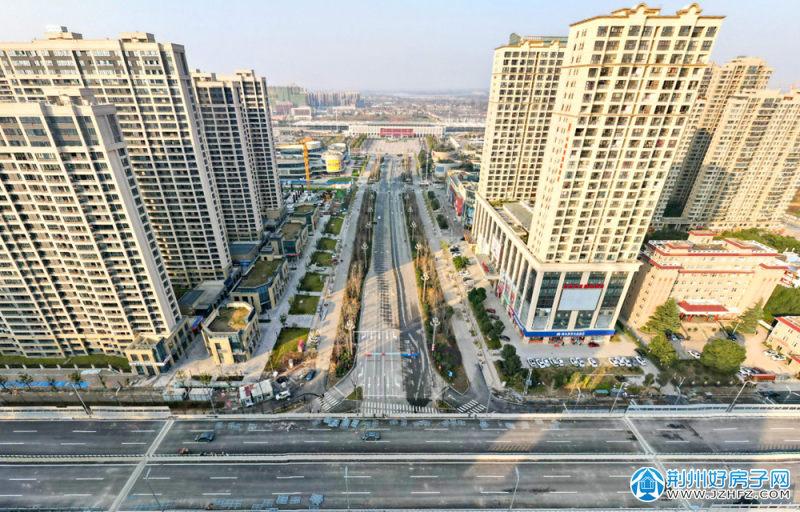 荆州高铁站前商圈