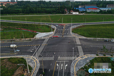 荆江大道太岳路至御河路段即将竣工