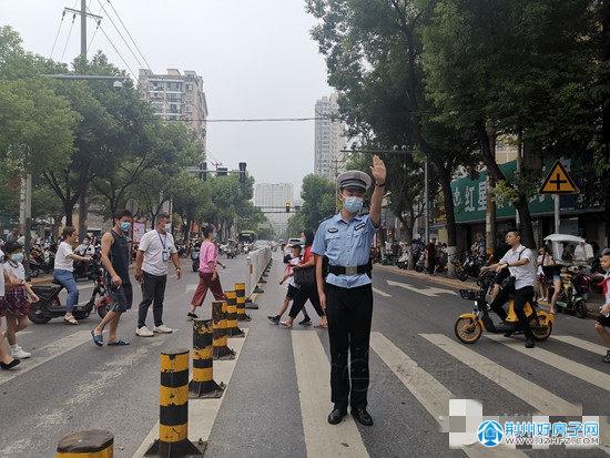 荆州70万中小学生迎来开学第一天