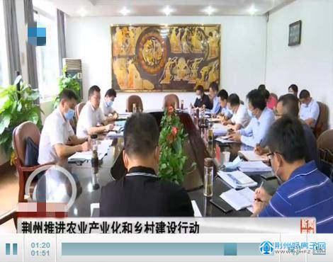 荆州推进农业产业化和乡村建设行动