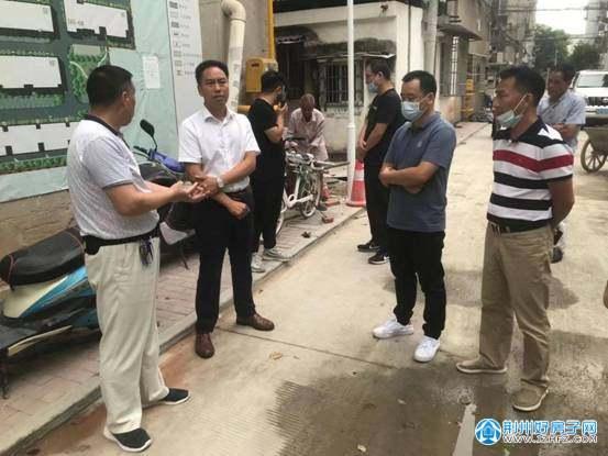 政府调研荆州老旧小区改造和老旧住宅楼加装电梯工作情况