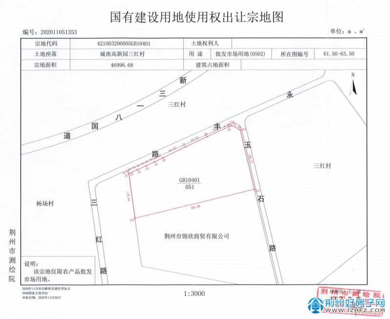 P(2021)013号宗地图