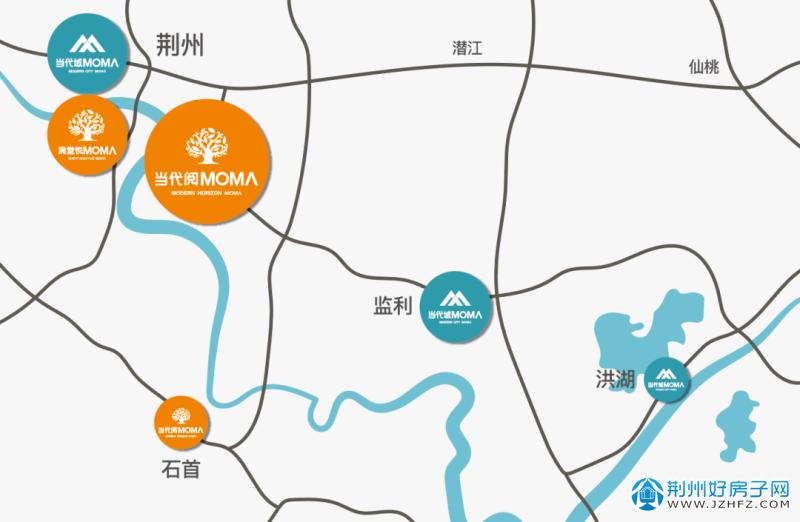 当代阅MOMΛ  荆州向东·与城市共生长