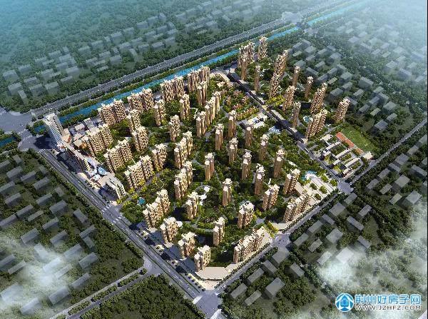 恒隆四季城项目鸟瞰图