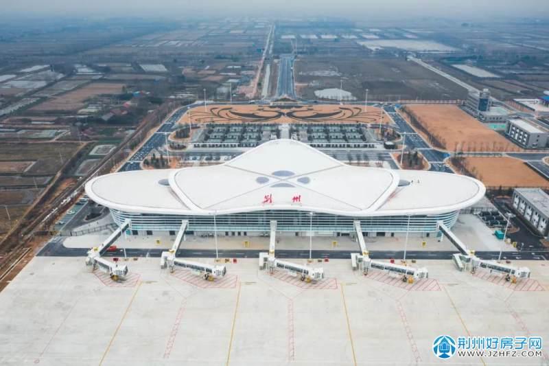 荆州机场实拍图