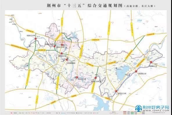 江陵公路图