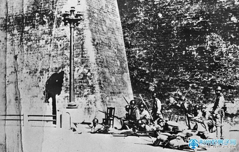 日军占领沈阳城。