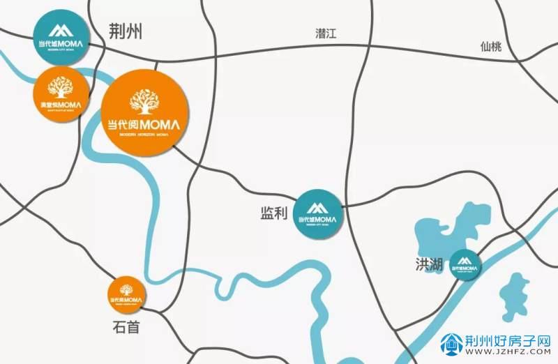 ΜΟΜΛ当代荆州6子分布图