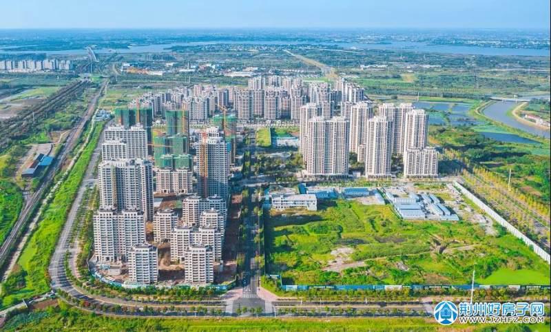荆州保利·公园壹号|鸟瞰实景拍摄