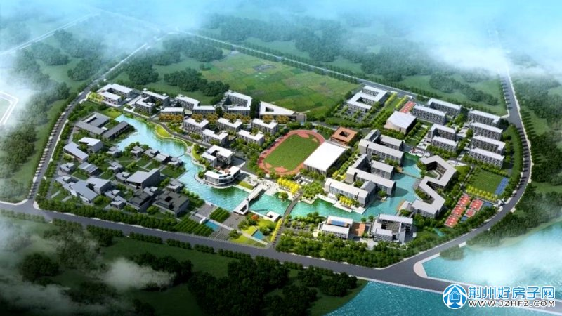 长江艺术工程职业学院效果图