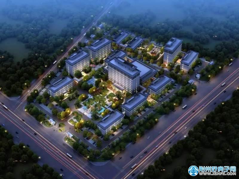 石首市社会福利院(含光荣院、未成年保护中心、残疾人康复中心)整体迁建工程项目效果图