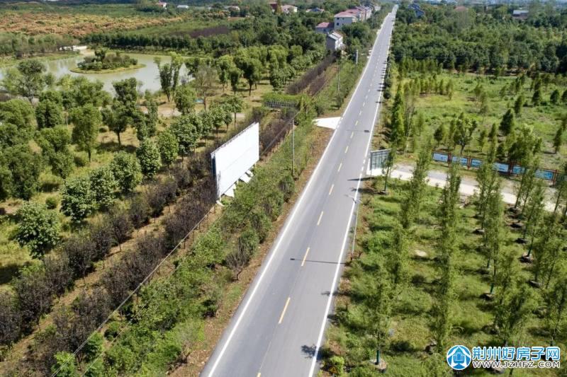荆州区国省干线公路大修工程全线完工