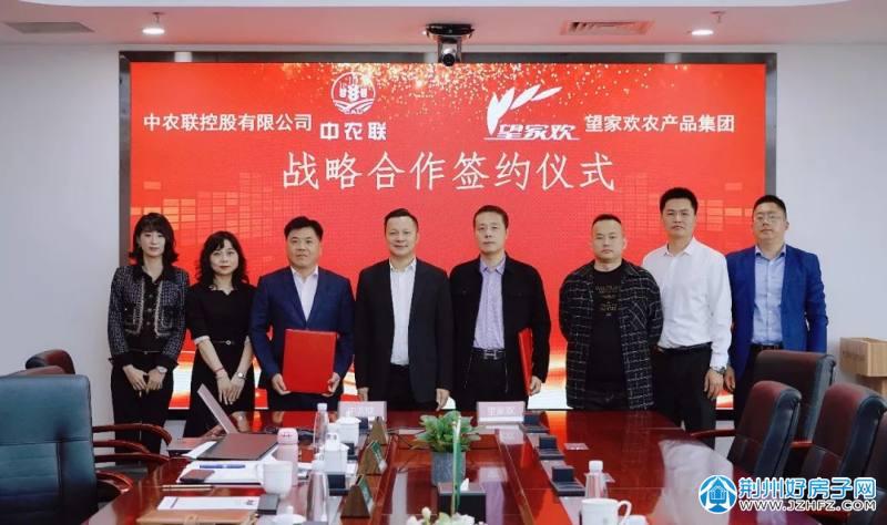 中农联与望家欢战略合作签约仪式成功举行