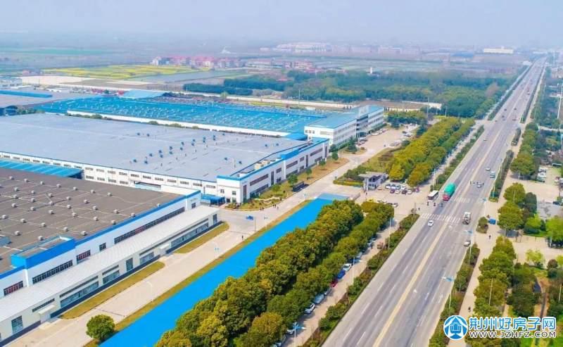 荆州经济开发区实景图