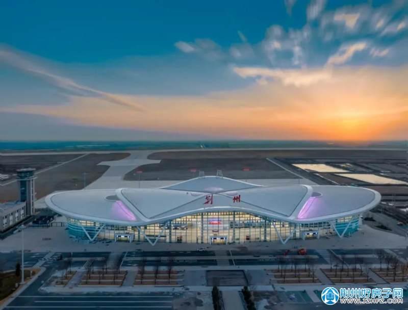 荆州沙市机场实景图