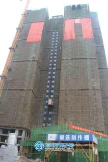 喜封金顶的6#楼