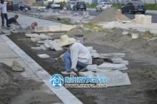 沿街路面施工