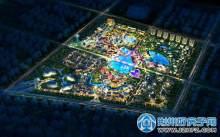 荆州新界-夜景鸟瞰图