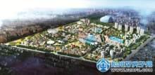 湖北荆州水世界总体鸟瞰图
